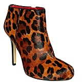 We love the rich brown hues and simple shape.  Nine West Fessup Booties ($119)