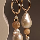 Beck Jewels Mother of Pearl Hoops