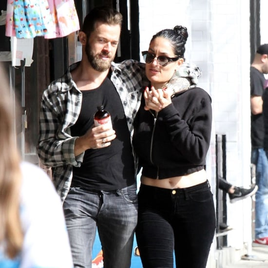 Nikki Bella and Artem Chigvintsev Kissing in LA March 2019