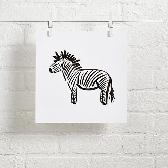 Linda and Harriett Zebra Wall Art