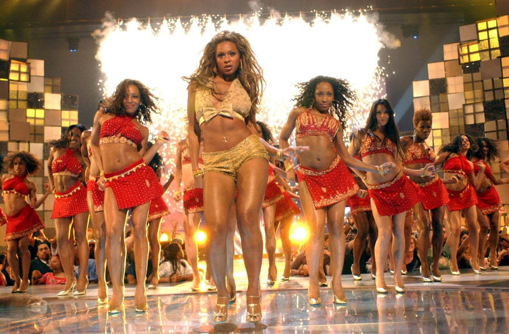 "Beyonce made her debut as a solo artist during the show in 2003 where she performed ""Baby Boy"" and, when Jay-Z joined her on stage, ""Crazy in Love."""