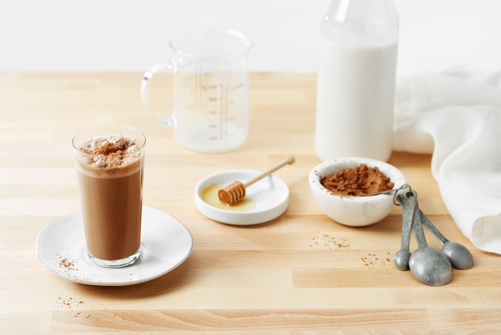 A Glass of Chocolate Milk