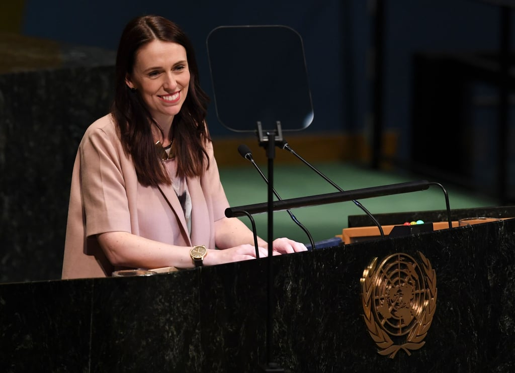 New Zealand Prime Minister Jacinda Ardern Brings Baby to UN
