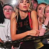 Kendall Jenner Attends Tyler, The Creator's Performance at Brixton Academy