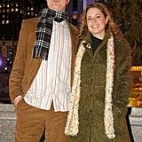Rainn Wilson and Jenna Fischer, 2005