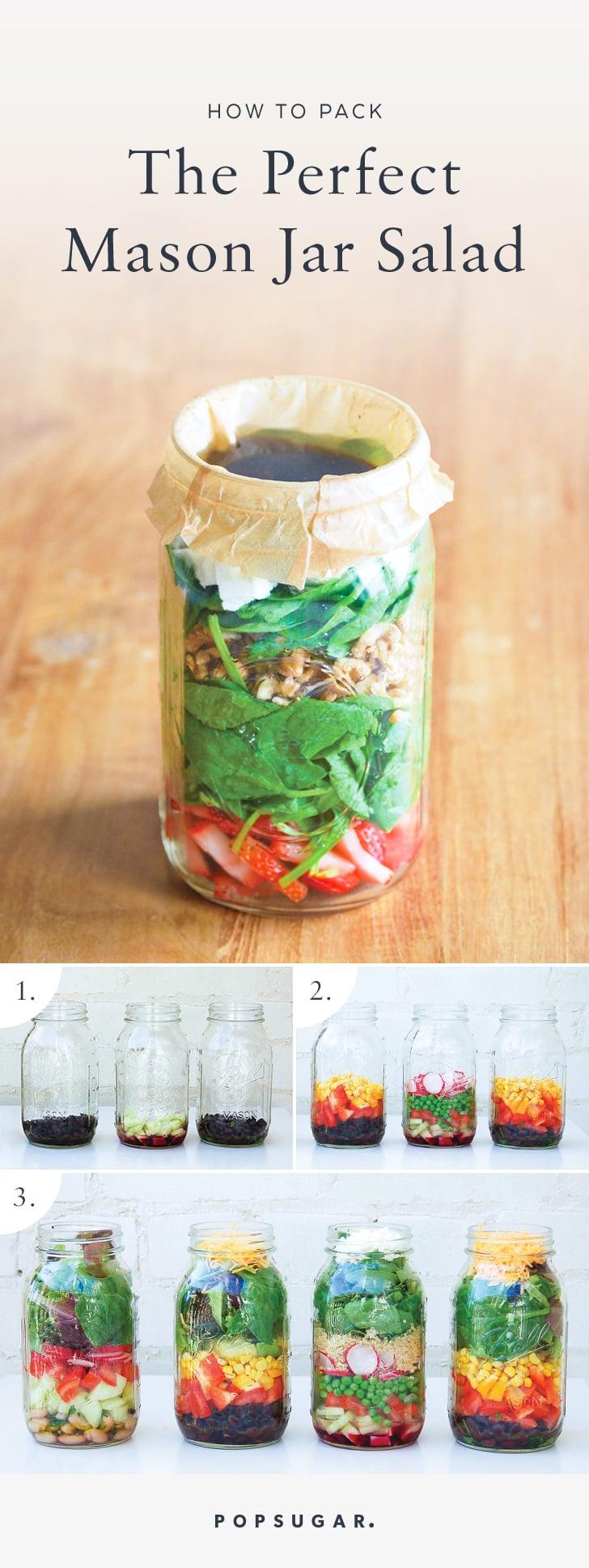 How To Make A Mason Jar Salad Popsugar Food Photo 6