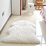 Meigar Soft Sheepskin Fluffy Skin Faux Fur Rug