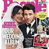 For the Christian wedding, Priyanka wore a custom Ralph Lauren gown that came with a beautiful 75-foot long veil. She also wore a gorgeous red lehenga for the Hindu wedding, as seen in People.
