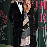 Derek Blasberg and Margherita Missoni at The Green Carpet Fashion Awards 2019