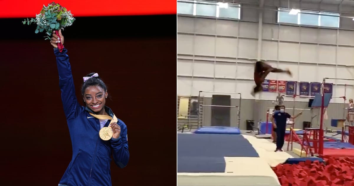 Simone Biles Just Did a Triple Backflip, and I'm Rubbing My Eyes in Disbelief
