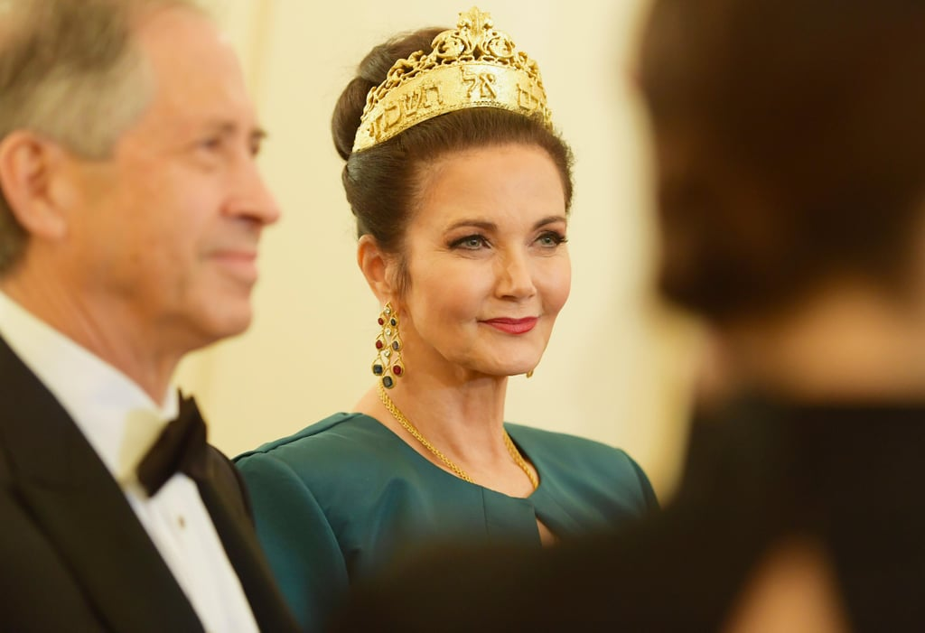 Lynda Carter's Hair Clip at the Met Gala 2018