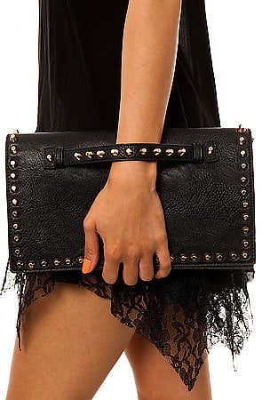 This Street Level Vice grip bag ($36) will supply the tough-girl edge to your look.
