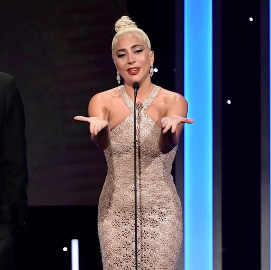 Lady Gaga and Bradley Cooper at American Cinematheque Awards