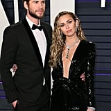 Pictured: Liam Hemsworth and Miley Cyrus