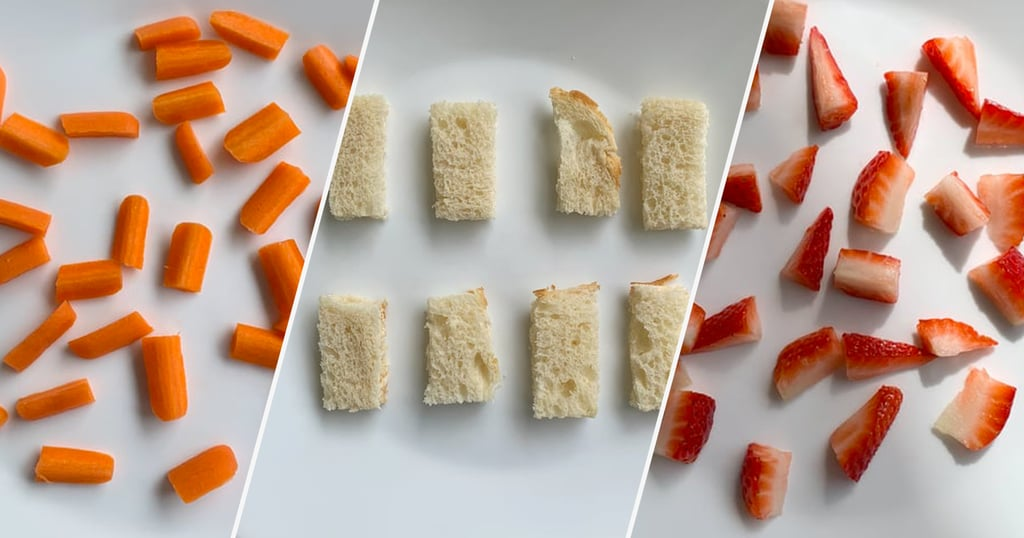 How to Cut Food for Toddlers
