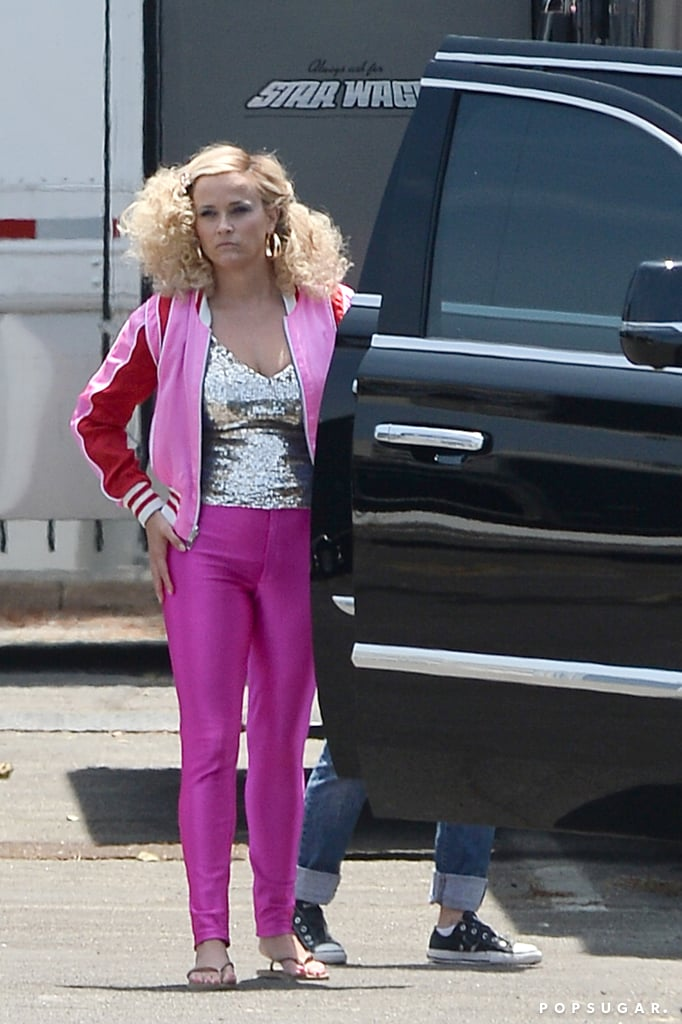 Is Monterey's latest bash a decades costume party? It certainly looks like it! On Monday, Reese Witherspoon and Nicole Kidman were spotted wearing their best retro wear as they filmed the upcoming second season of HBO's Big Little Lies. While Nicole, aka Celeste Wright, sported a technicolour coat and matching pink boots reminiscent of the '70s, Reese, who plays Madeline Martha Mackenzie on the series, looked like an '80s Barbie doll with teased hair and an all-pink outfit. Seriously, the resemblance is uncanny! As you patiently wait for the upcoming season, see some of the most recent set pictures ahead.       Related:                                                                                                           These Behind-the-Scenes Photos From Big Little Lies Are Basically a Ticket to Monterey