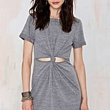 Nasty Gal Factory Knot About It Cutout Dress ($48)