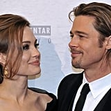 Angelina Jolie and Brad Pitt attended the Bosnian premiere of her movie In the Land of Blood and Honey.
