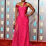 Regina King at the 2019 BAFTA Awards