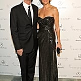 Lisa Rinna told us she needed her husband Harry Hamlin's help to get into her complicated dress for the gala.