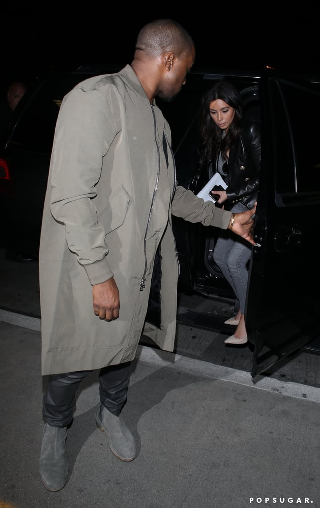 Kanye West Is a True Gentleman When It Comes to Kim