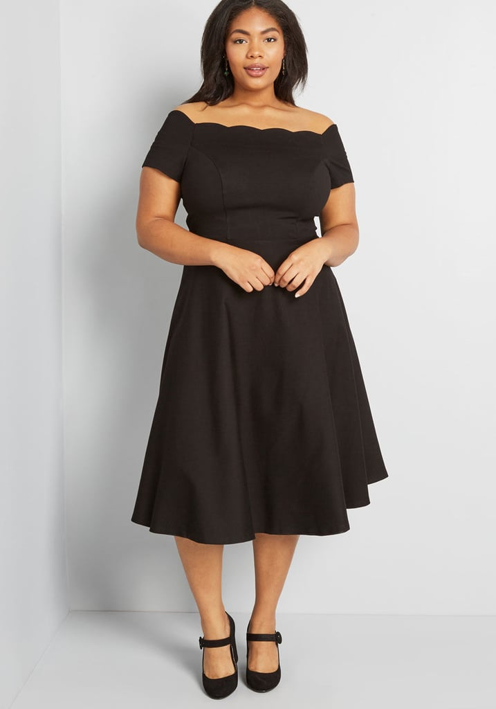 Timeless Favorite Off-Shoulder Dress | Flattering Plus-Size Dresses ...