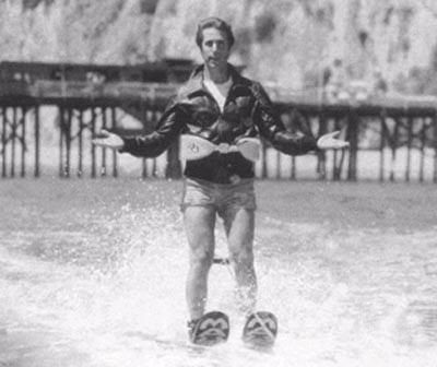 Flashback: 30 Years Ago Today, The Fonz Jumped A Shark
