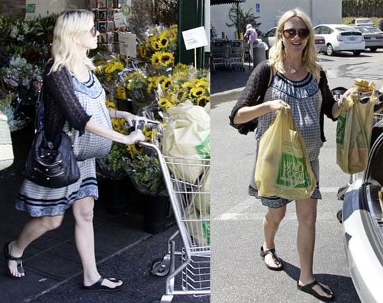 Super Pregnant Naomi Watts Lands in LA