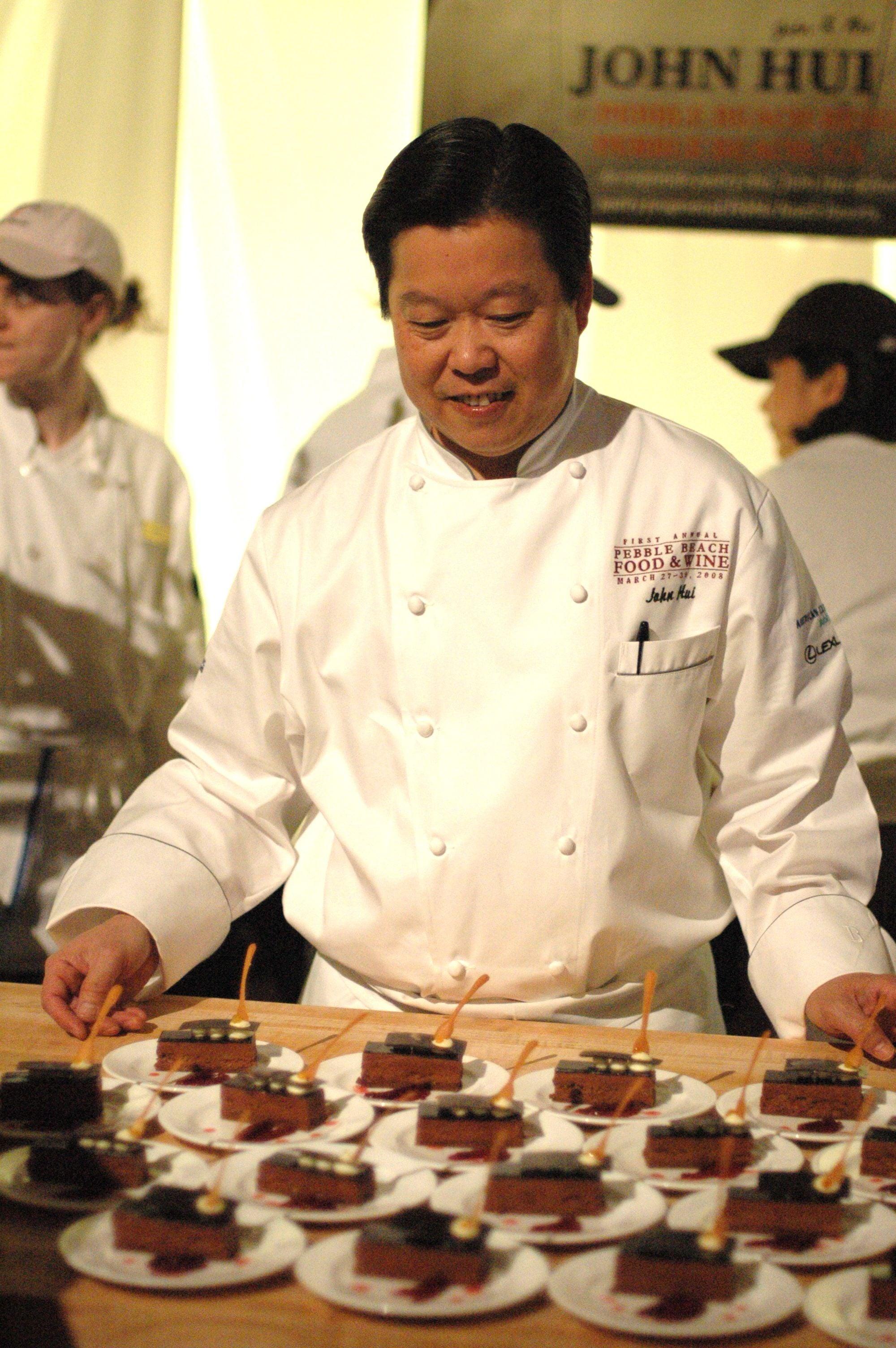 John Hui, Pastry Chef of Pebble Beach Resorts