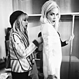 Rachel Zoe helped dress Jaime King for a shoot. Source: Instagram user jaime_king