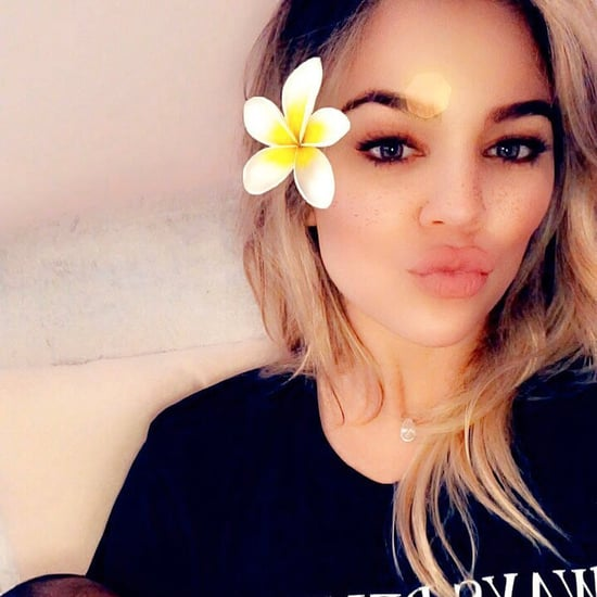 Khloé Kardashian Proud of True For Sleeping