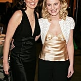 Tina and Amy linked up during a gala at New York City's MoMA in December 2004.