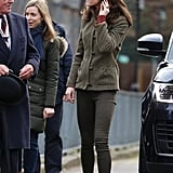 Kate Middleton See By Chloe Boots in Islington January 2019