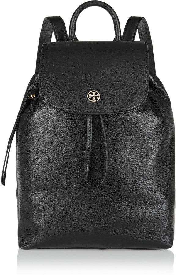 Tory Burch Brody Textured-Leather Backpack ($495)