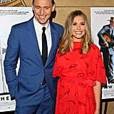 Tom Hiddleston and Elizabeth Olsen on Red Carpet March 2016