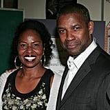 Denzel Washington and Pauletta Pearson