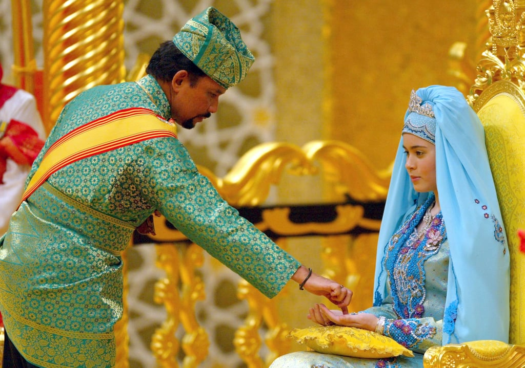 Prince Al-Muhtadee Billah and Dayangku Sarah binti Pengiran Salleh The Bride: Dayangku Sarah binti Pengiran Salleh. The Groom: Al-Muhtadee Billah, crown prince of Brunei. When: Sept. 5, 2004. The bride was 17, and the groom was 30. Where: The sultan's palace in Bandar Seri Begawan, Brunei.