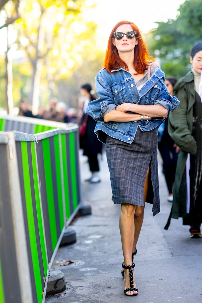 Taylor Tomasi Hill at Paris Fashion Week