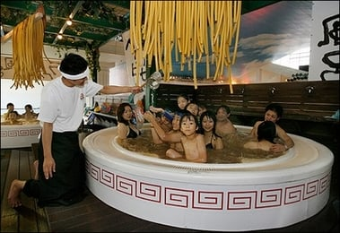Rub a Dub Tub Full of Ramen