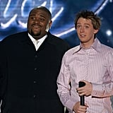 Ruben Studdard and Clay Aiken
