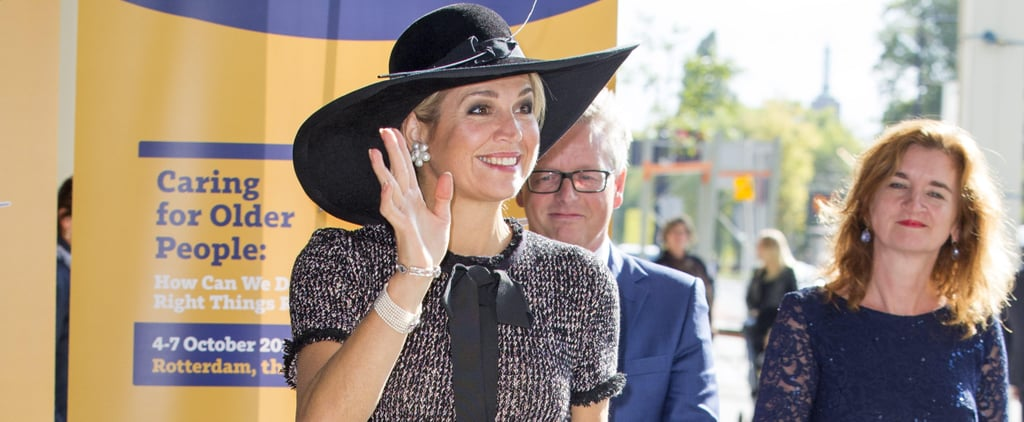Queen Máxima's Dress Looks Straight Off the Chanel Runway, but It's From Your Favorite Store