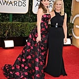 Tina Fey and Amy Poehler classed it up on the red carpet.