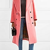 Burberry Oversized Wool and Cashmere-Blend Coat