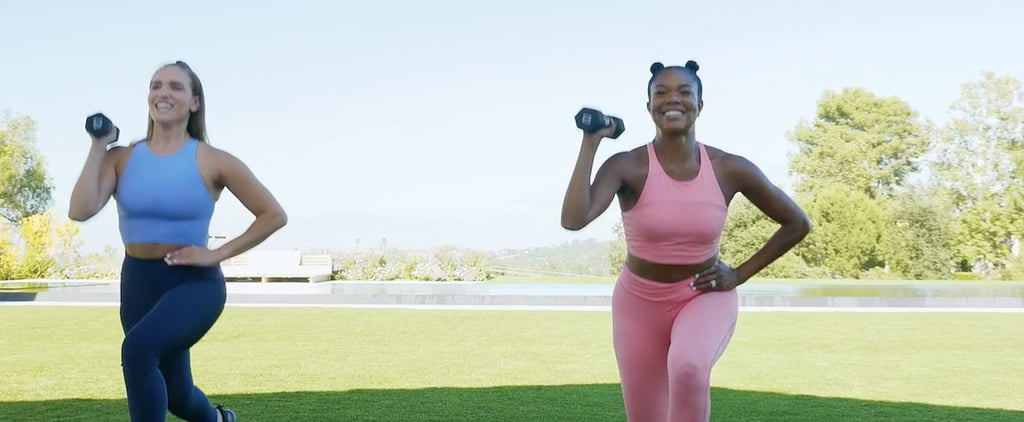 Try Gabrielle Union's Full-Body HIIT Workout on FitOn App