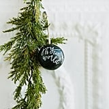 Write With The World Ornament ($8)
