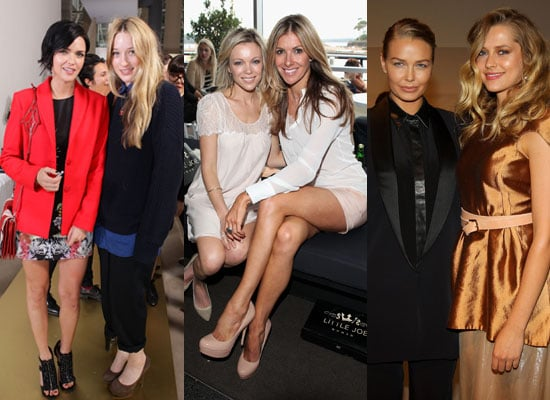 Photos Of Celebrities Front Row at 2011 Rosemount Australian Fashion Week