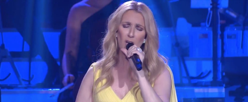 Céline Dion Dresses Like Belle to Perform Her New Beauty and the Beast Song