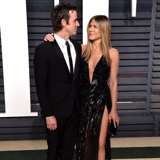 Jennifer Aniston et Justin Theroux Soirée Vanity Fair 2017