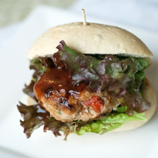 Mini Barbecue Turkey Burgers