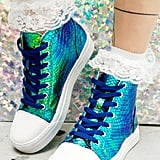 Mermaid Scale High Top Sneakers ($45)